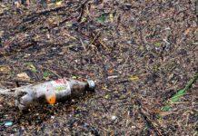 láhev, odpad