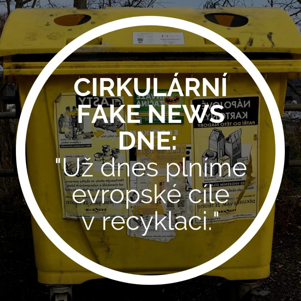 fake news, INCIEN, recyklace