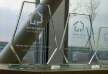 Trofeje pro soutěž Chytrá města pro budoucnost