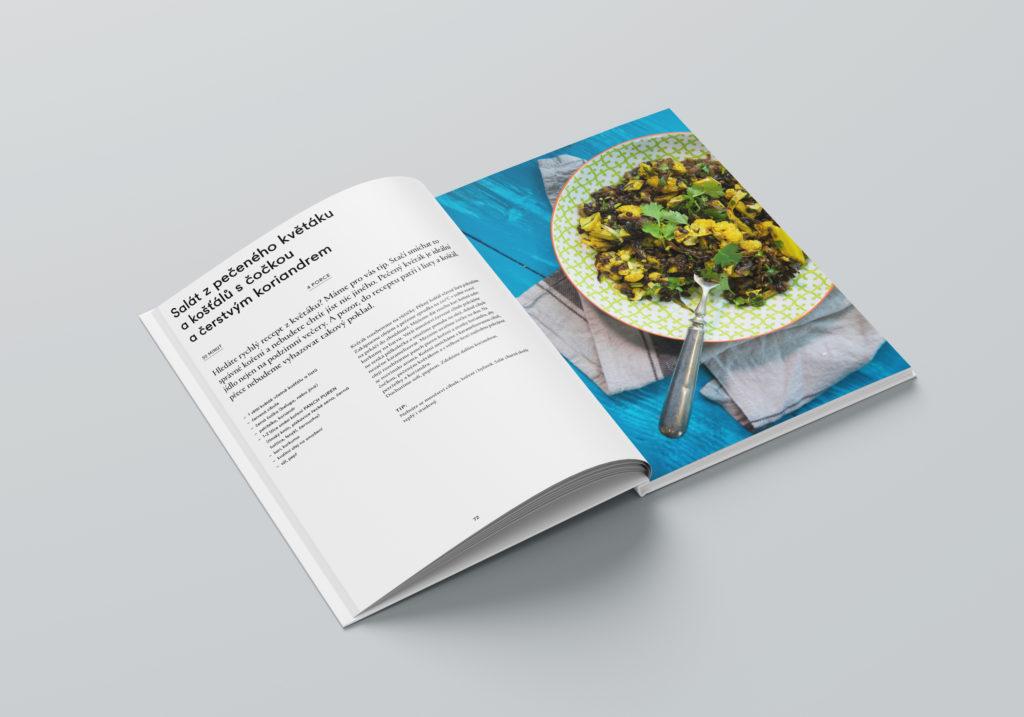 kniha, kuchářka, recept