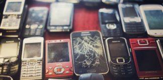 Staré telefony