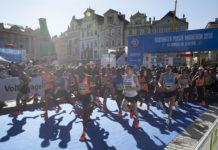 běžci na maratonu
