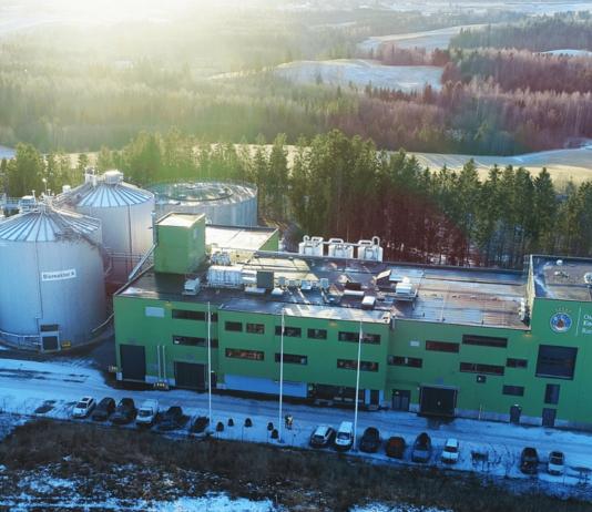 Romerike, bioplynová stanice
