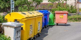 Kontejnery, tříděný odpad