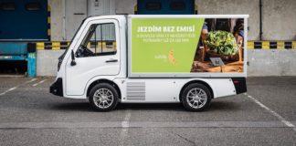 Elektromobil pro doručování