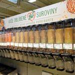 Bezobalový prodej v supermarketu Albert