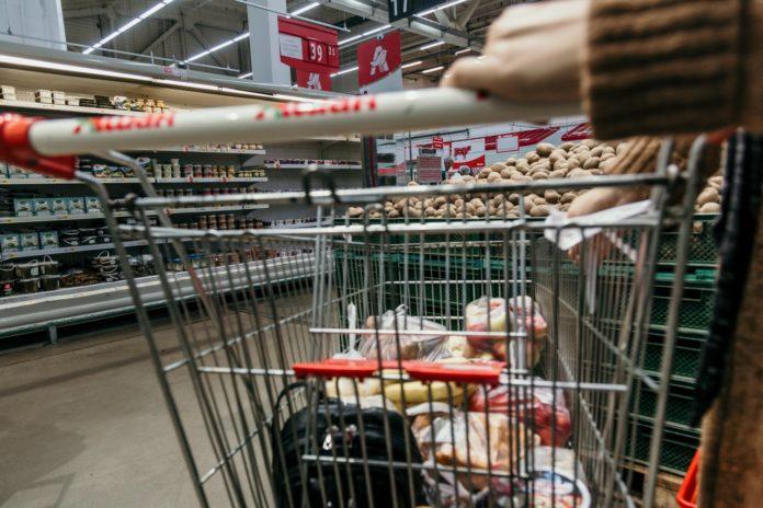 Nakupování, ilustrační foto