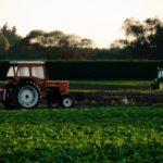 Traktory na poli