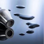 Vortex Power Spring je zařízení, které vyvolá v tekoucí vodě z kohoutku vířivý pohyb. Díky němu se voda okysličí a obohatí o energii. Zdroj: VortexPower.ch