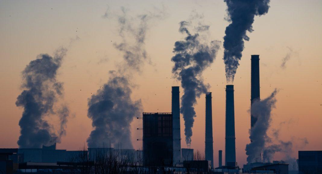Znečištěné město